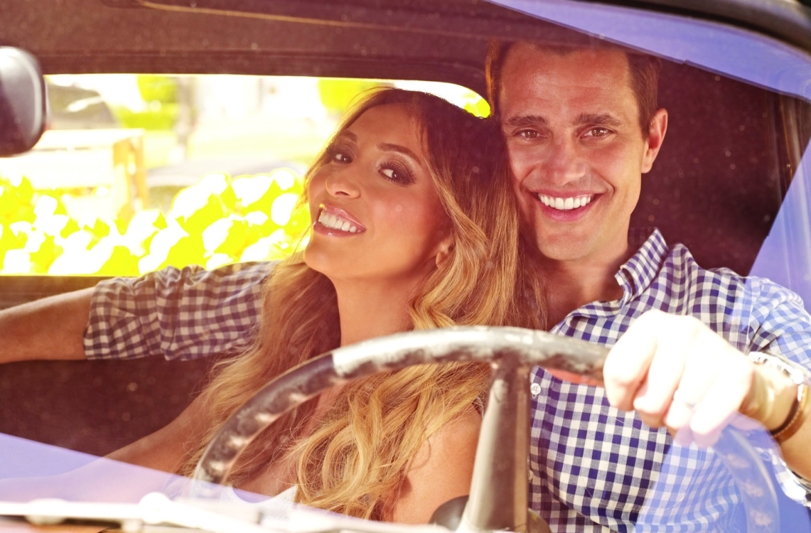 GUILIANA & BILL -- Season: 4 -- Pictured: (l-r) Guiliana Rancic, Bill Rancic -- Photo by: Jeff Lipsky/The Style Network
