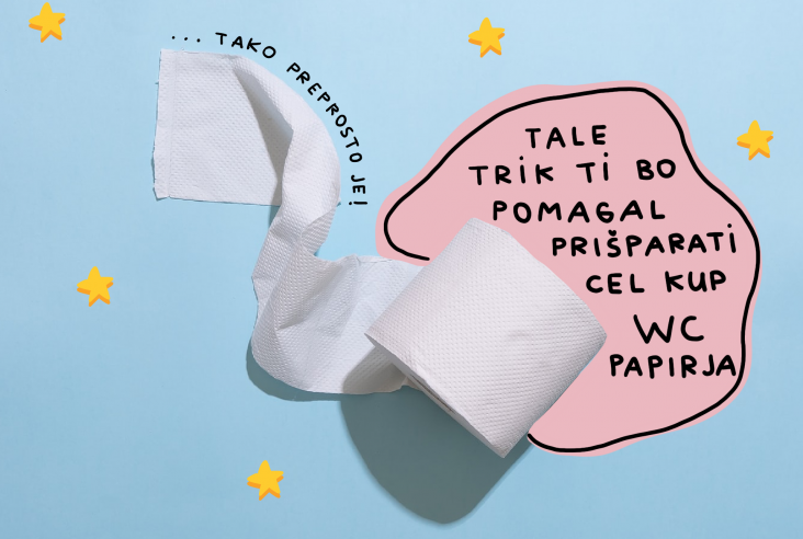 Trik: Toaletni papir