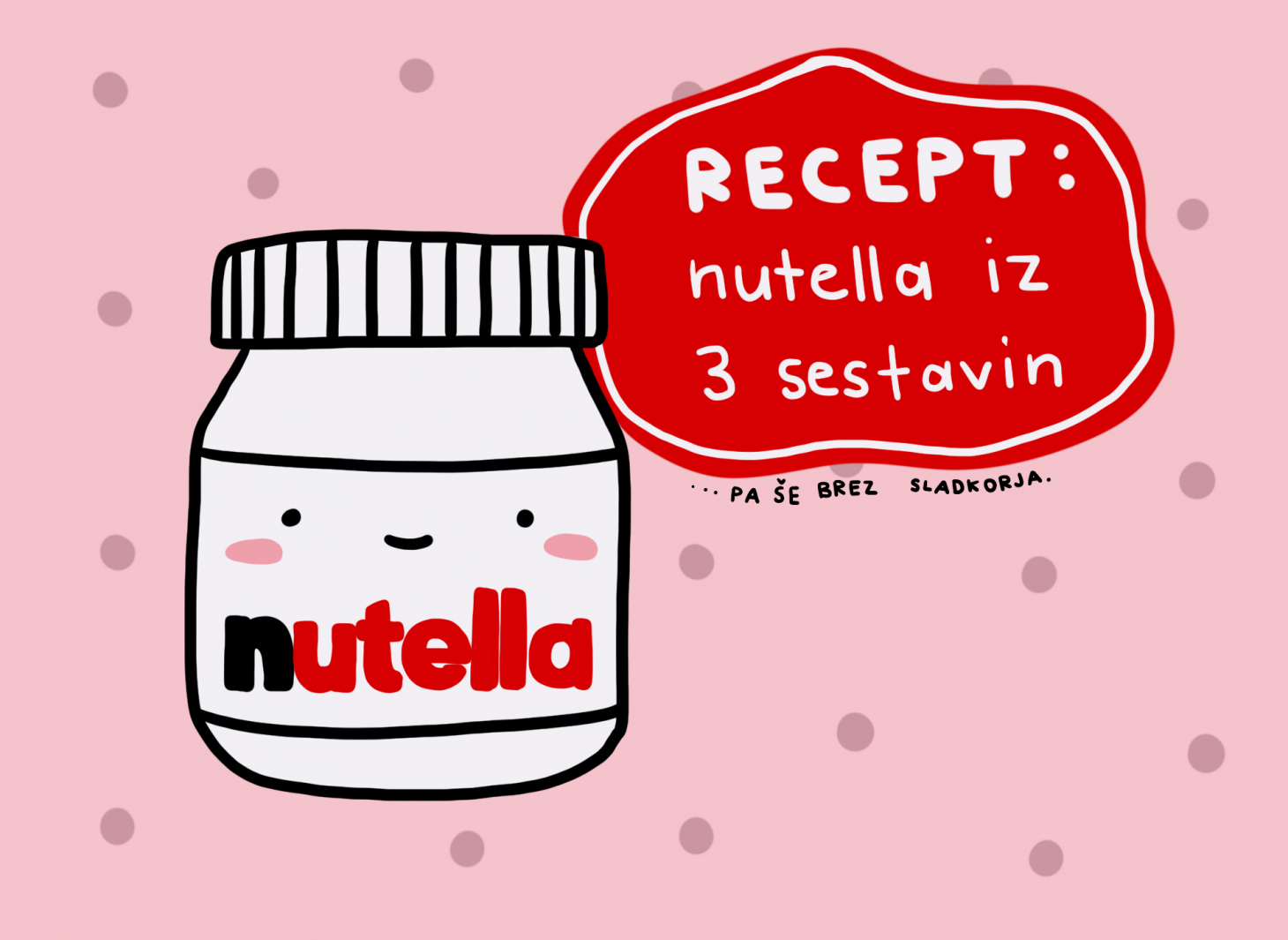 Recept: Nutella iz 3 sestavin